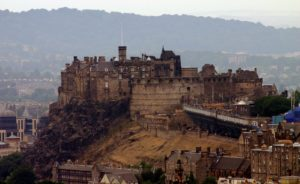 Le château d'Edinburgh